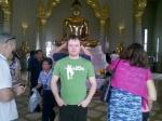Johan i buddhist tempel